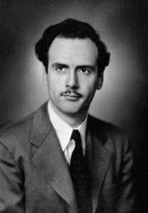 Portrait de Marshall McLuhan en 1945. Source : Library and Archives Canada. Domaine Public (https://commons.wikimedia.org/wiki/File:Marshall_McLuhan.jpg).